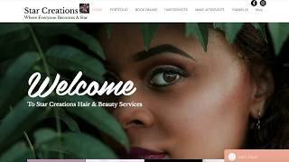 Web Design, for Star Creations