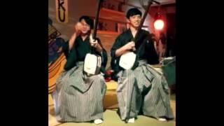 Have fun in Tsugaru shamisen and erhu!