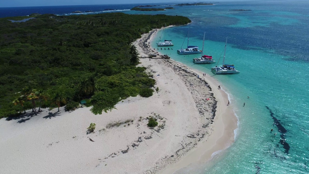 rico puerto icacos island 4k phantom dji pro