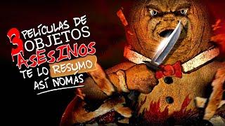 Te Lo Resumo | 3 Películas con Objetos Asesinos Así Nomás