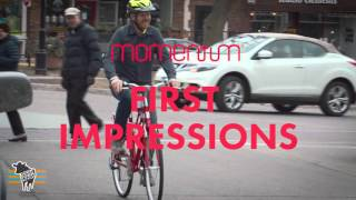 Downtown Bicycles and the Giant Momentum Street