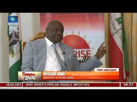 Gov. Wike Gives Update On Developments In Rivers Pt.2 |Sunrise Daily|
