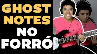 #BassManiac004 Como tocar forró no Baixo Com Ghost Notes Aula #7