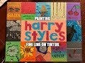 Painting Harry Styles' Fine Line on TikTok