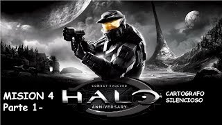 Cartografo Silencioso - Halo Combat Evolved Mision 4 Parte 1