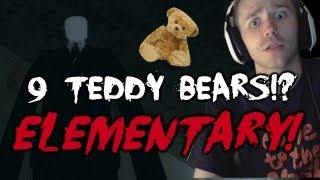 Scary Games - 9 TEDDY BEARS!? Slender Elementary w/ Reactions & Facecam Attempt 3