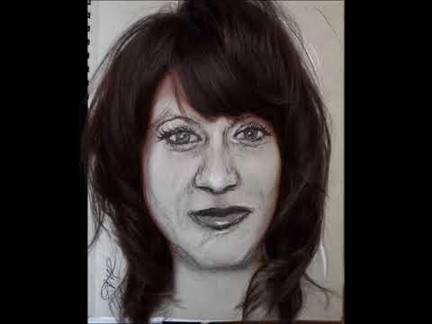 Lady Spirit Portraits for MEDIUMSHIP by Artist Anne-Marie Bond