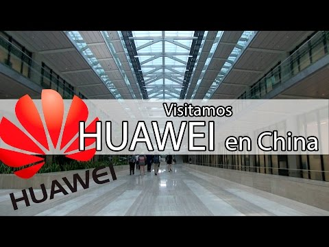 Recorrido por las instalaciones de Huawei en China