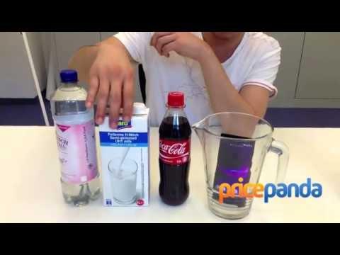 Test Ketahanan Sony Xperia Z melawan Coca Cola dan Susu