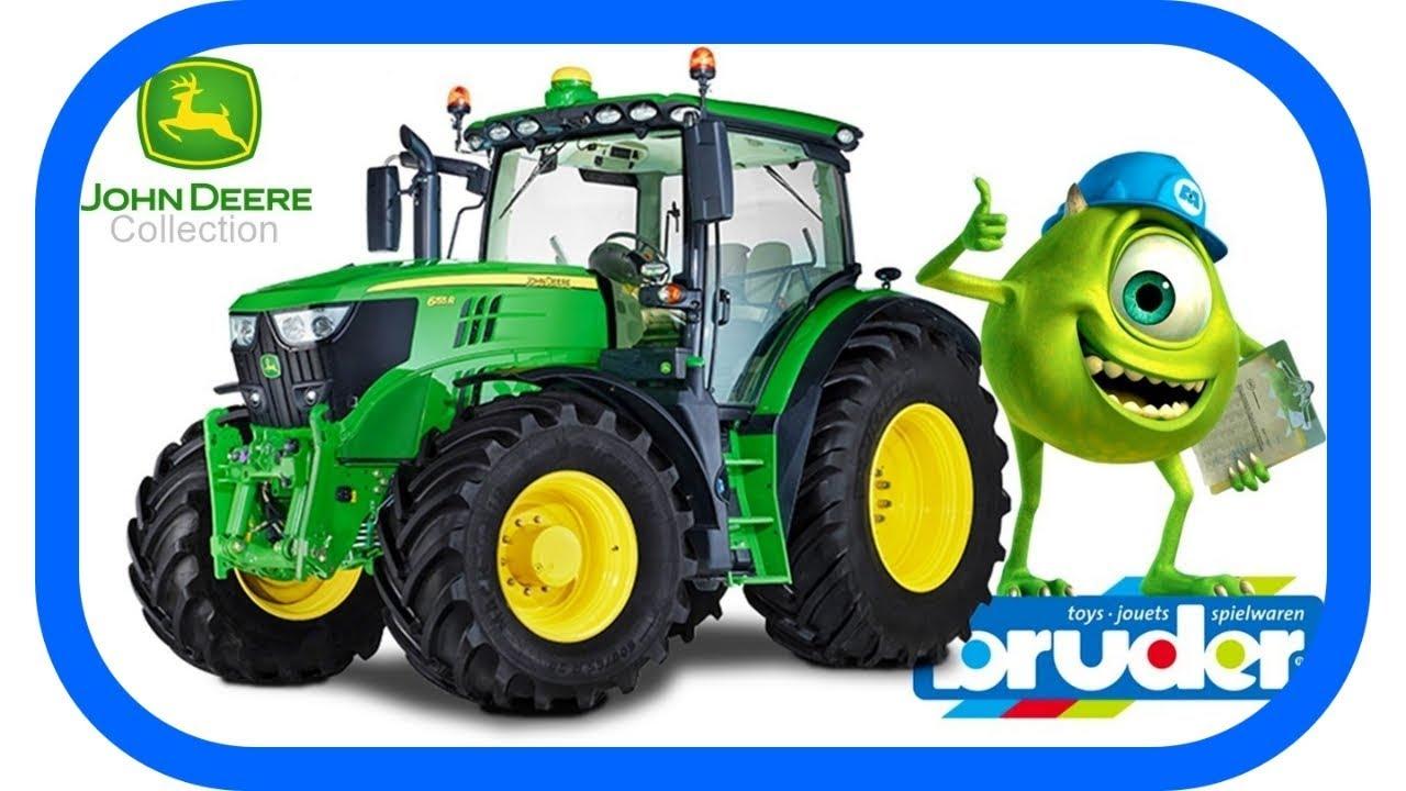 Bruder john deere tractor john deere traktor mit frontlader ─ the