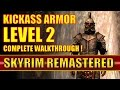 Skyrim Remastered - BEST ARMOR at Level 2! - Free Steel Plate Armor (Skyrim Special Edition)