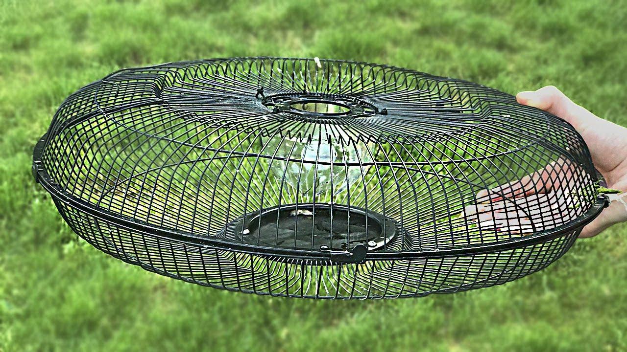 Fabriquer Une Tour A Poisson comment faire un piège à poisson de la garde électrique du ventilateur
