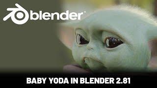 Blender Character Animation Tutorial: Baby Yoda