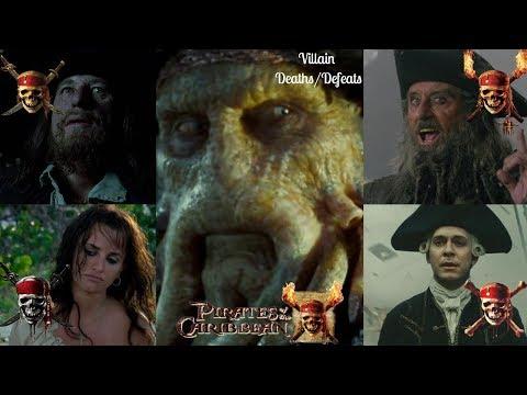 Pirates of the Caribbean all villain deaths/defeats (1-4)