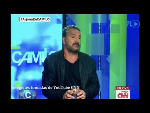 Arjona se molesta y deja solo a Camilo, de CNN   Prensa Libre
