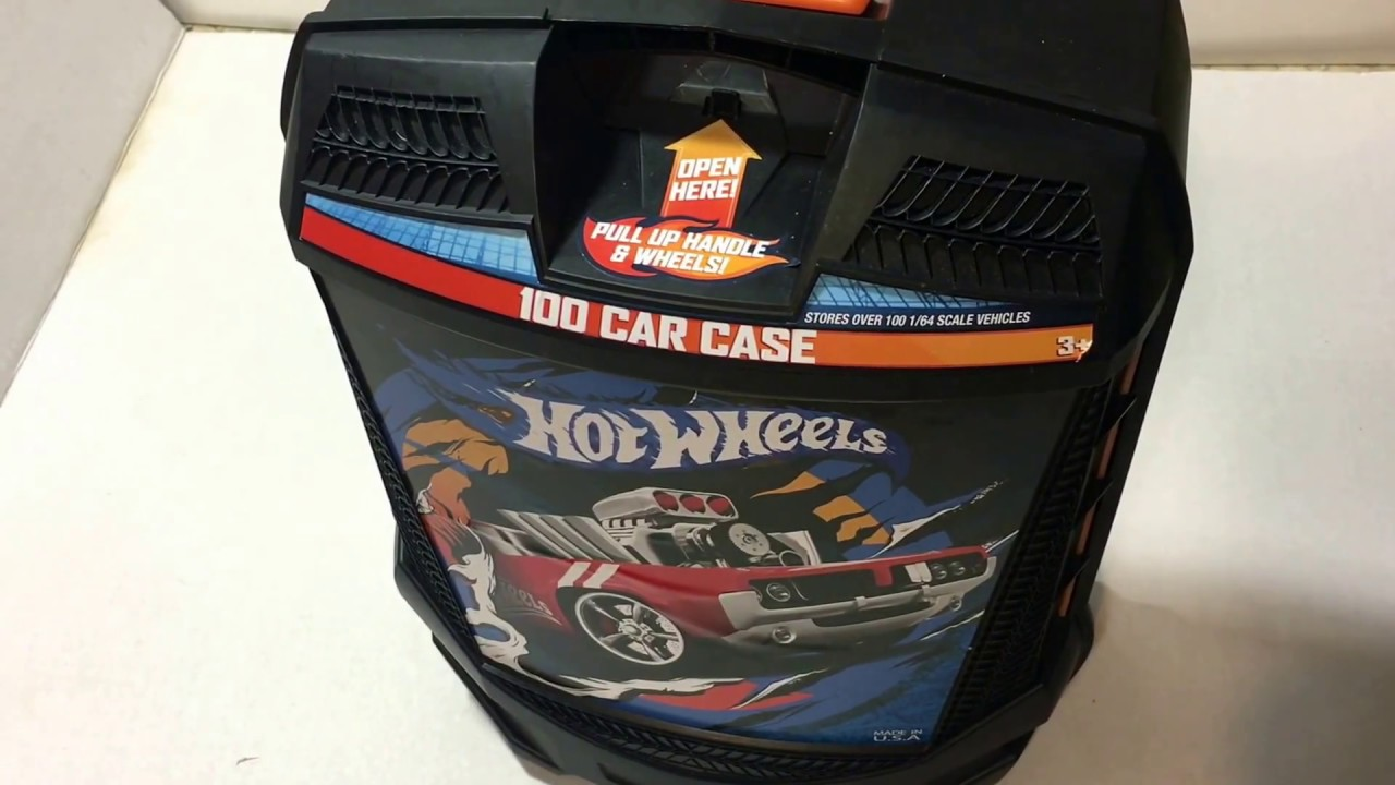 Hot Wheels 100 Car Storage Case Review Hotwheels Suitcase Style