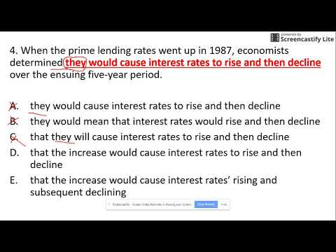 When the prime lending rates went up in 1987, economists