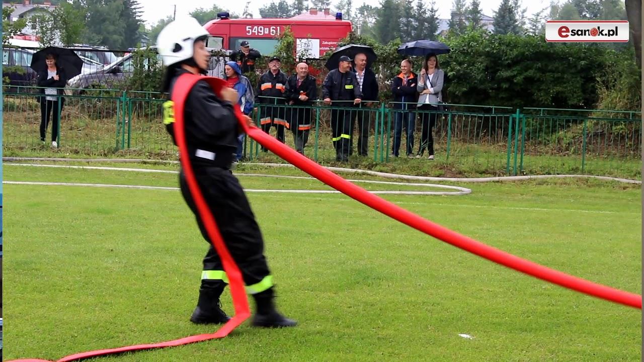 Strażacy ochotnicy rywalizowali w zawodach pożarniczych (FILM)