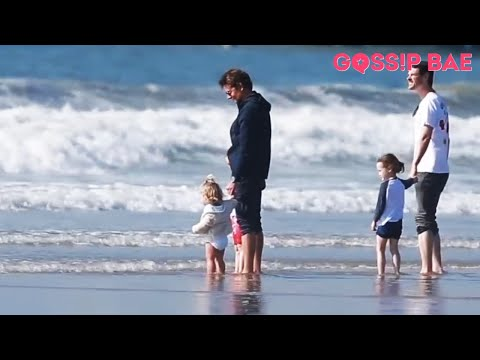 Bradley Cooper and Irina Shayk take their daughter to the beach