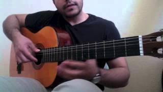 AFGHAN GUITAR TUTORIAL #7: Ba Tu Raftam-Chords/Tabs