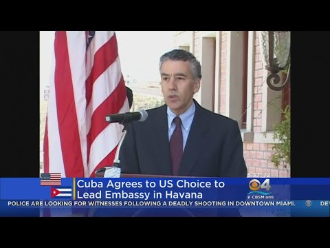 Cuba Gives Visa To Senior U.S. Diplomat .