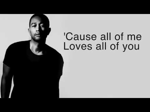 All Of Me - John Legend (LYRICS + HQ AUDIO)
