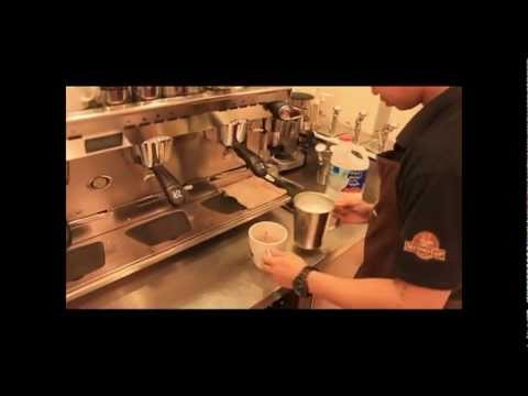 """""""Second Cup Qatar"""" Official entry of my Barista Challenge 2013"""