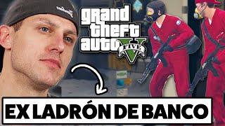 Ex ladrón de banco lleva a cabo un robo en 'Grand Theft Auto V' | BuzzFeed Multiplayer en español