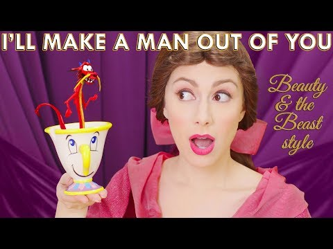 Mulan | I'll Make A Man Out Of You | Beauty and the Beast style (Whitney Avalon)