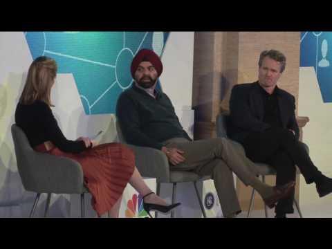 FinTech Ideas Festival 2017 - Day 2 - Ajay Banga, Brian Moynihan, Kayla Tausche