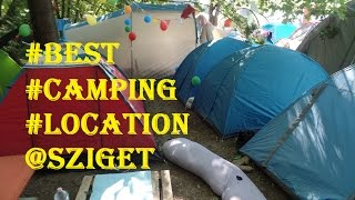 Camping Vibe @ Sziget Festival