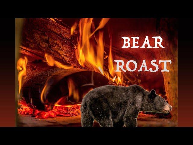 Bear Roast Stew | Rendering Fat | Maple Cutting Board | Corn Bread on the Woodstove