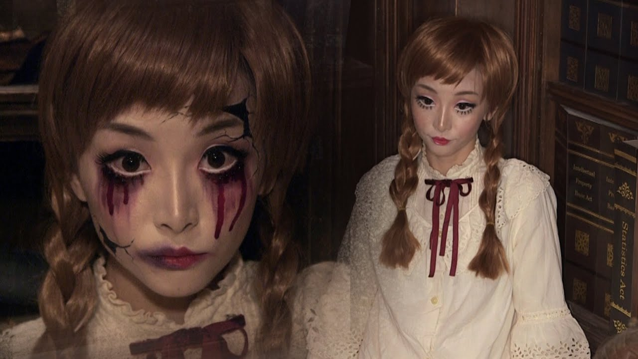 Halloween Makeup Store halloween makeup ideas with what you already have Vintage Doll Broken Doll Halloween Makeup