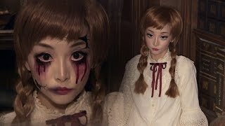 - Vintage Doll Broken Doll  Halloween Makeup