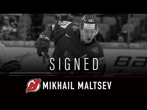 This Is Why New Jersey Devils Signed Mikhail Maltsev - 2019 (HD)