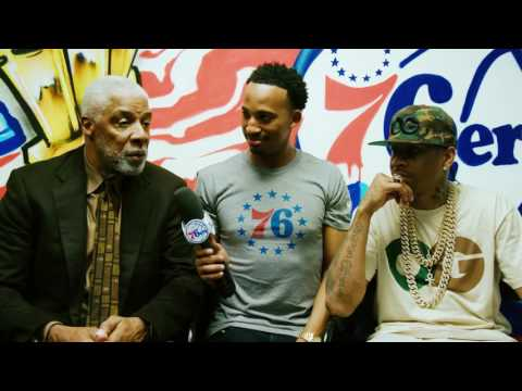 Allen Iverson & Julius Erving Interview (2016) *AI beats Dr. J in mini-basketball shootout!!!