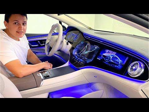2022 Mercedes EQS 580 | NIGHT Drive AMG FULL Review Interior Exterior