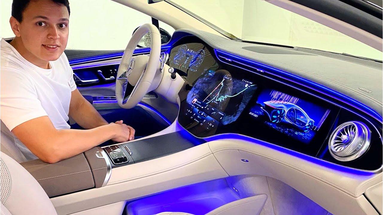 Download 2022 Mercedes EQS 580 | NIGHT Drive AMG FULL Review Interior Exterior
