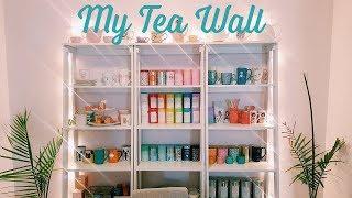 MY TEA WALL | How I organize my tea collection