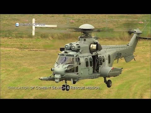 Airbus Helicopters - EC725 Caracal Multi-Role Helicopter Demo Tour In Poland [1080p]