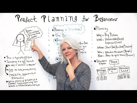 Project Planning for Beginners - Project Management Training