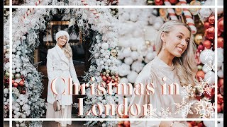 CHRISTMAS IN LONDON 🎄💫 A Lookbook & City Guide | Fashion Mumblr