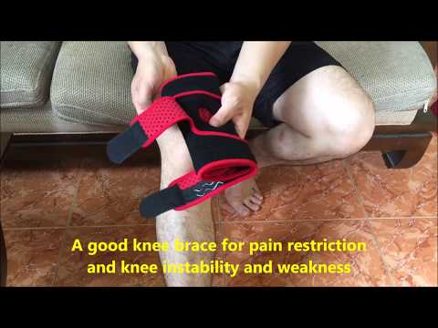 Knee Brace Support For Arthritis, Running, ACL, Meniscus Tear, volleyball, Basketball, exercise 2019