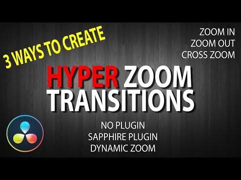HOW TO: Hyper Zoom Transitions (v2.0) | Davinci Resolve 15 &14