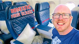 Delta's Excellent Domestic First: Boeing 757 (Delta Domestic First Class Review)