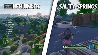 NOUVEAU COMMENT POUR GET UNDER SALTY SPRINGS (fr) PÉPIN FORTNITE
