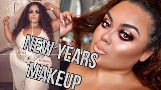 NEW YEARS MAKEUP INSPO (my bachelorette party makeup)♡♡ |GABRIELLAGLAMOUR