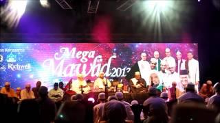 Mega Mawlid 2013 : Habib Syech As saggaf [Ahbabul Mustafa] - Qasidah Ahmad Ya Habibi/Nurul Musthofa