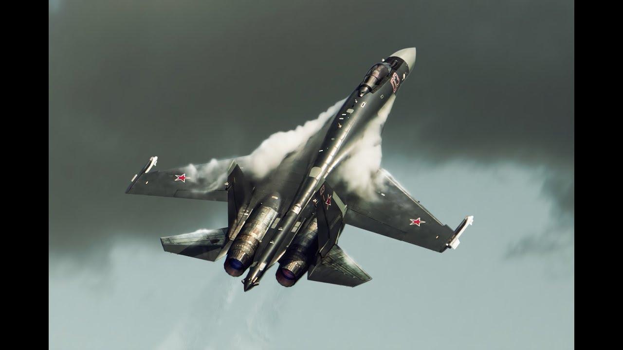 Os caçadores da Rússia – Sukhoi Su-35S 4++