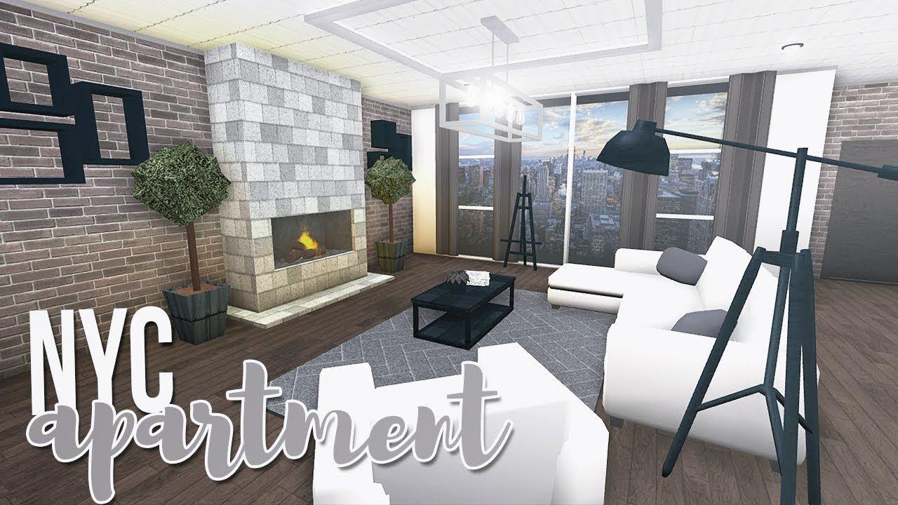 Roblox Bloxburg Nyc Apartment 60k Youtube
